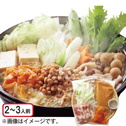 米麹と麦みそ仕立ての発酵鍋