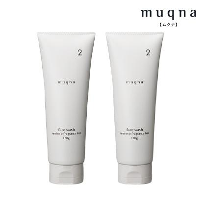 〈muqna〉 洗顔フォーム 120g 2本