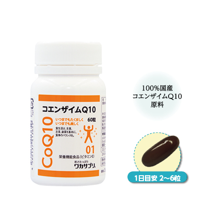 〈ワカサプリ〉 コエンザイムQ10 60粒