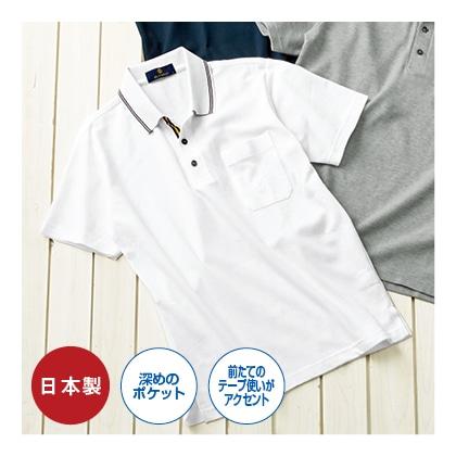 吸汗発散半袖ポロシャツ
