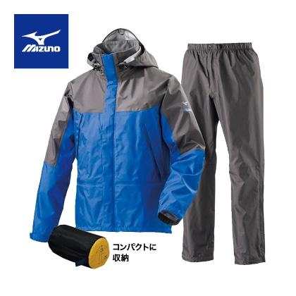 <ミズノ>ベルグテックEXストームセイバ−VI レインスーツ メンズ ブルー XL