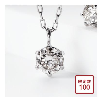 Ptダイヤモンド プチネックレス