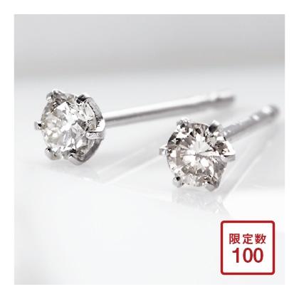 Ptダイヤモンド ピアス
