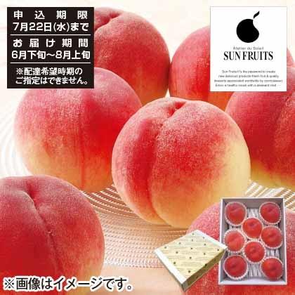 山梨県春日居産 旬の桃