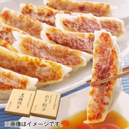 黒豚餃子と九条葱餃子セットA