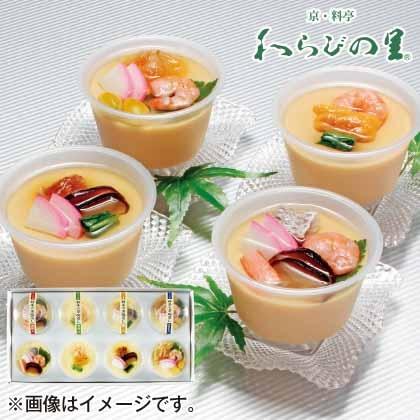 京・料亭 わらびの里 料亭の冷し茶碗蒸し