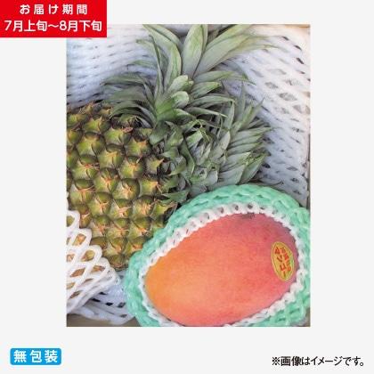 沖縄県産マンゴーとボゴールパインのセット