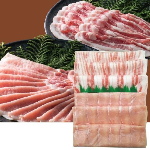 大阪 黒門萬野総本店 鹿児島県産豚肉冷しゃぶ食べ比べ