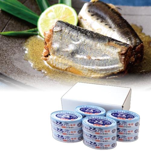 銚子産 ミニとろイワシ 12缶