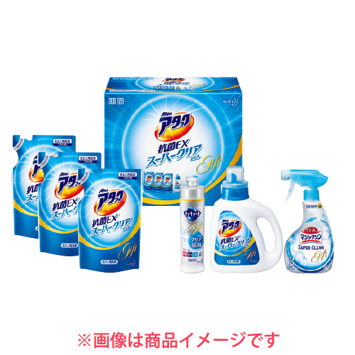 花王 アタック抗菌EX スーパークリアジェルギフト