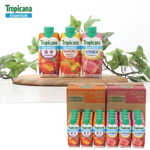 トロピカーナ エッセンシャルズ 鉄分・食物繊維セット