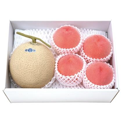 静岡温室マスクメロン&桃
