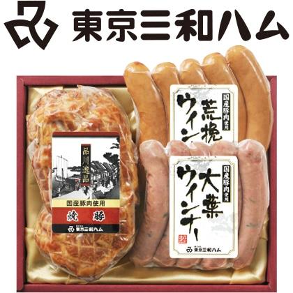 品川逸品 焼豚・ウィンナーセット