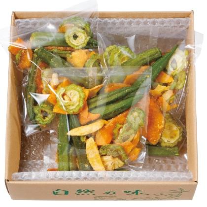 夏の野菜・果物チップス(5つの味わい)