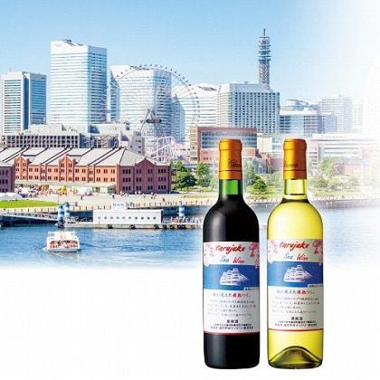 海が見えた樽熟ワイン