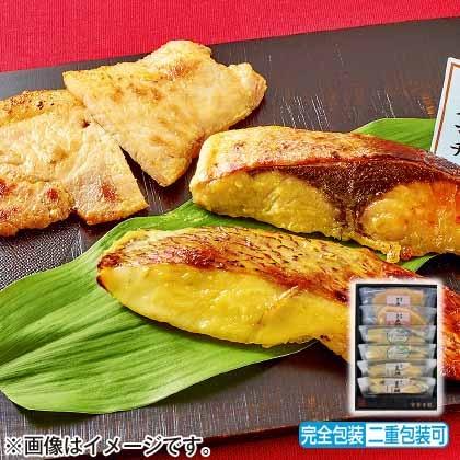 瀬戸内産魚と讃岐こめ豚の味噌漬