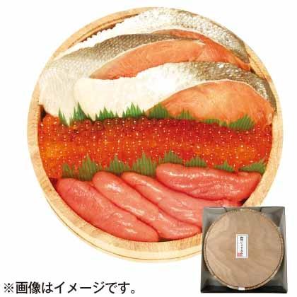 紅鮭・いくら・たらこセット