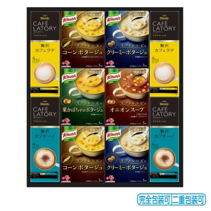 味の素クノールスープ&コーヒーギフト KGC−30N