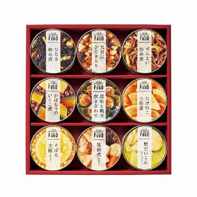 ミツコシイセタン ザ・フード 和惣菜缶詰詰合せ