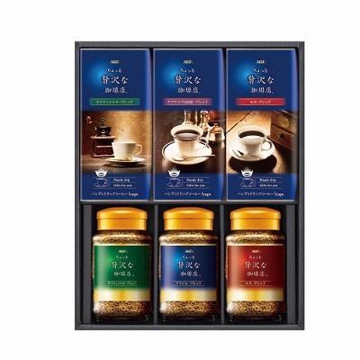 AGF ちょっと贅沢な珈琲店 ドリップ&インスタントコーヒーギフト