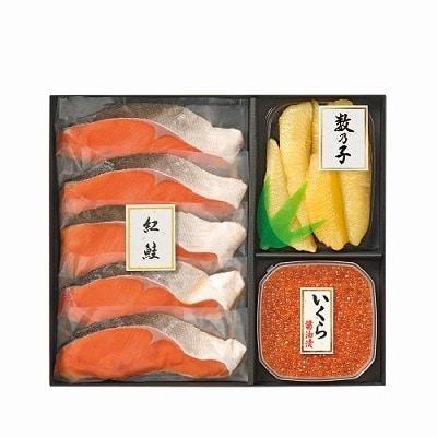 紅鮭・いくら醤油漬・味付け数の子詰合せ