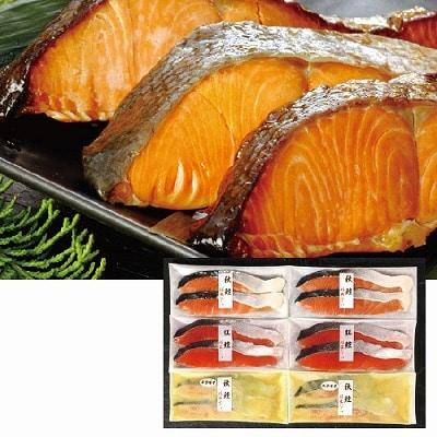 鮭匠ふじい 天然鮭の食べ比べ