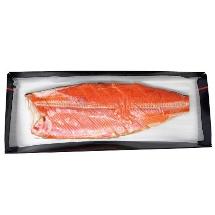 紅鮭半身切身