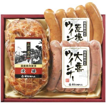 品川逸品 焼豚・ウィンナ−セット