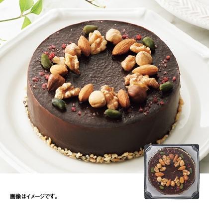 【通常配達】ナッツとラズベリーのショコラムースケーキ