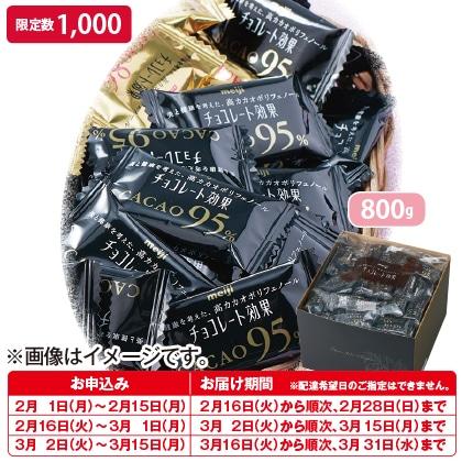 〈明治〉チョコレート効果大容量 CACAO95%