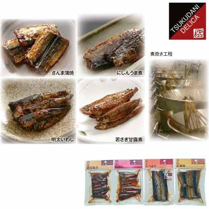 〈平松食品〉 三河佃煮4品詰合せ