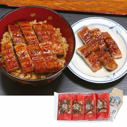 鰻蒲焼カット 4パック
