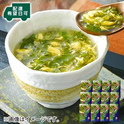 三陸ふわとろめかぶスープ