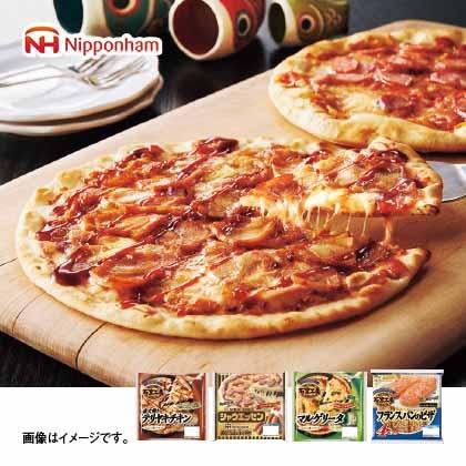 日本ハム バラエティピザセット