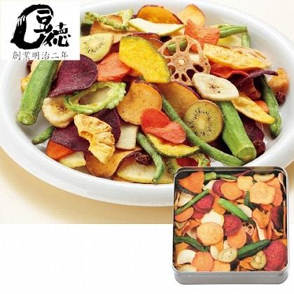 【母の日】野菜・果物チップス(缶入り)