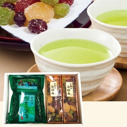 【父の日】甘納豆・お茶セット