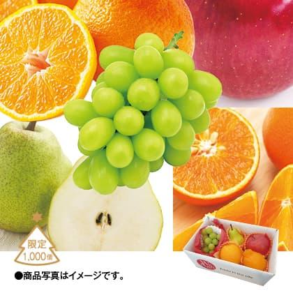 クリスマスフルーツ5種詰合せ