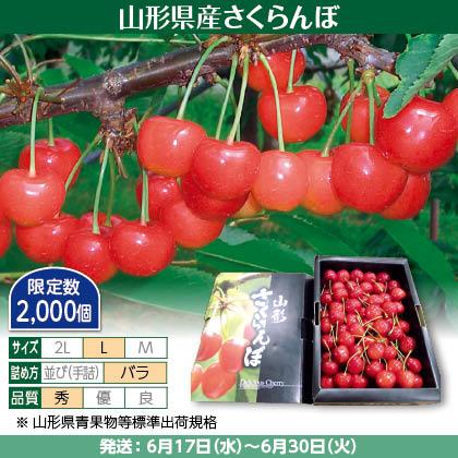 佐藤錦(8)700g(L、秀:バラ詰)