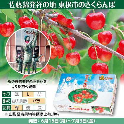 佐藤錦(13)250g(L、秀:バラ詰)×2、フードパック入