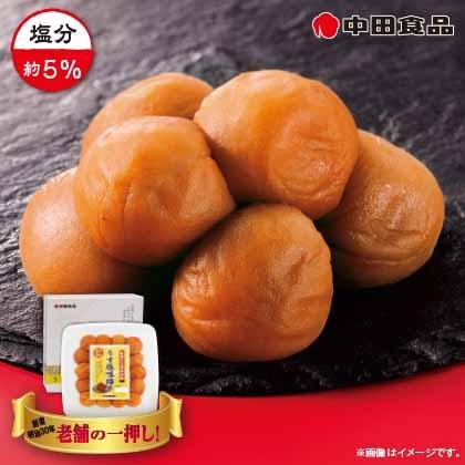 中田食品 うす塩味梅干 3箱