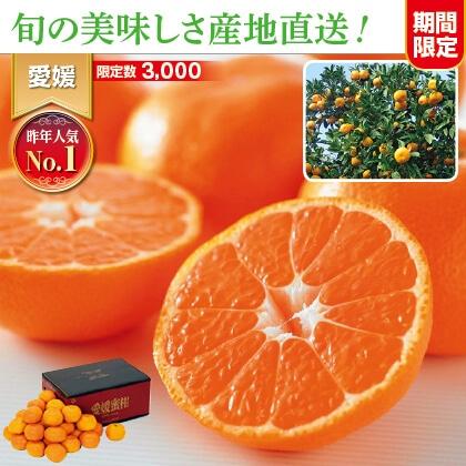 愛媛みかん 3kg家庭用(バラ詰)