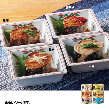 福井缶詰 鯖缶詰合せ(6缶)