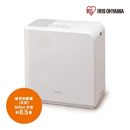 <アイリスオーヤマ>気化ハイブリッド式加湿器500ml(ホワイト)