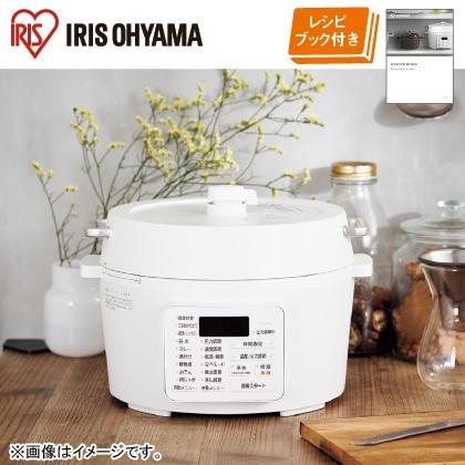 〈アイリスオーヤマ〉電気圧力鍋 2.2L
