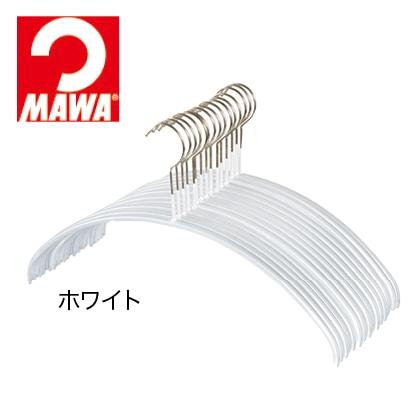 マワ人体ハンガー 15本組(ホワイト)
