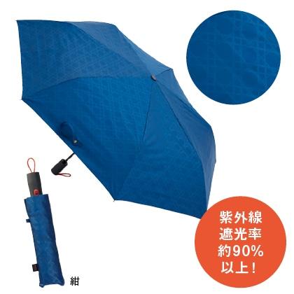 〈mabu×TOKYU HANDS〉ストレングス 自動開閉折傘58cm 晴雨兼用(紺)