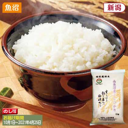 南魚沼産コシヒカリ特別栽培米 5kg(2020年産)