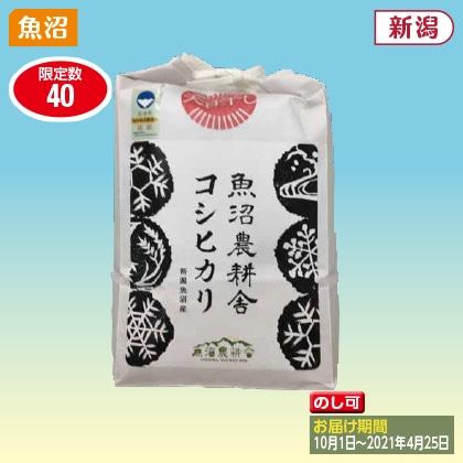 天日干し特別栽培米 魚沼産コシヒカリ 2kg(2020年産)