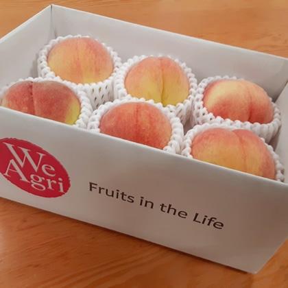 ご家庭用 旬の桃