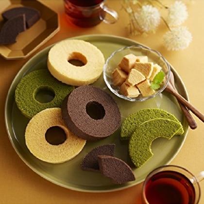 とりたまバウム3種&クッキー